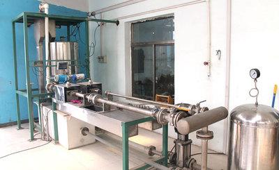 靜態稱重法液體流量標定系統
